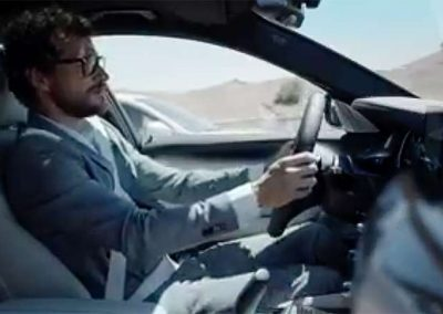 BMW sport new series 5 mini commercial