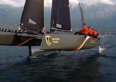 DJI – Extreme Drone Shooting Catamaran