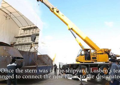 LUSBEN – HUGE MAINTENANCE WORKS