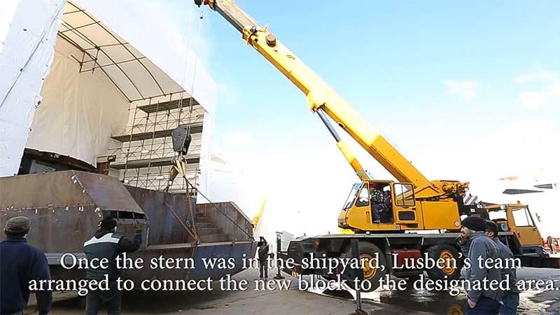 LUSBEN – HUGE MAINTENANCE WORKS