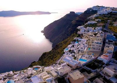 This is Santorini