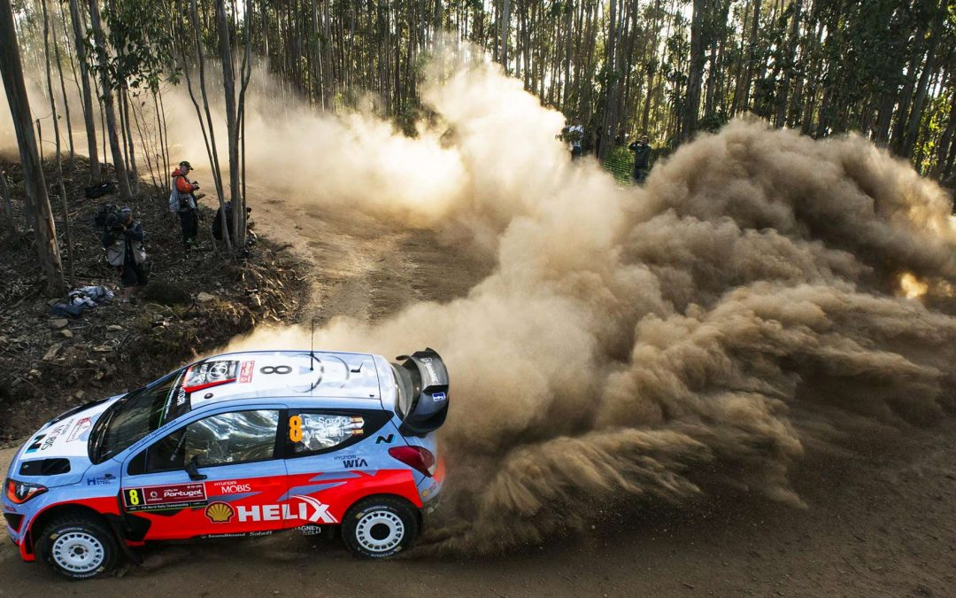 Drone Arezzo per DJI al rally WRC Sardegna 2016