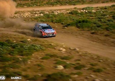 WRC – Rally Italia Sardegna 2016 – Spectacular Aerial Clip