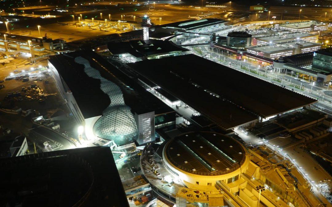 Drone Arezzo atterra a Roma Fiumicino