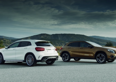 The new GLA: Fitness programme for compact SUV