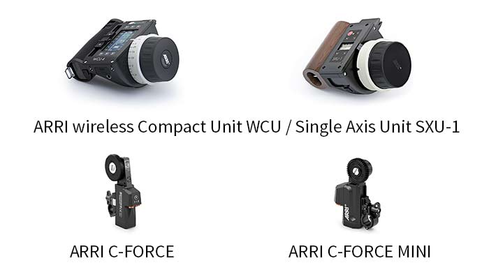 arri wireless compact unit sinle axis unit sxu-1 c-force mini
