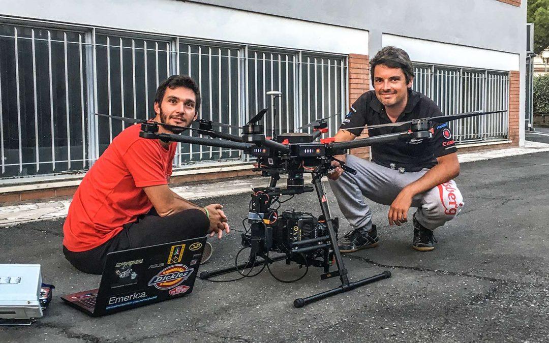 Drone Arezzo vola con i Droni per Cameron