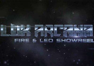 LUX ARCANA – FIRE & LED SHOWREEL 2016