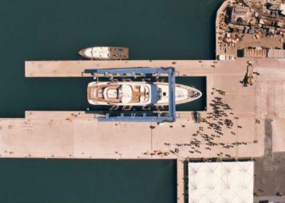 ISA YACHTS – The Launch of ISA Sport 120 M/Y Clorinda