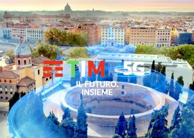 Spot TIM – Use the technology to travel with your fantasy 5G