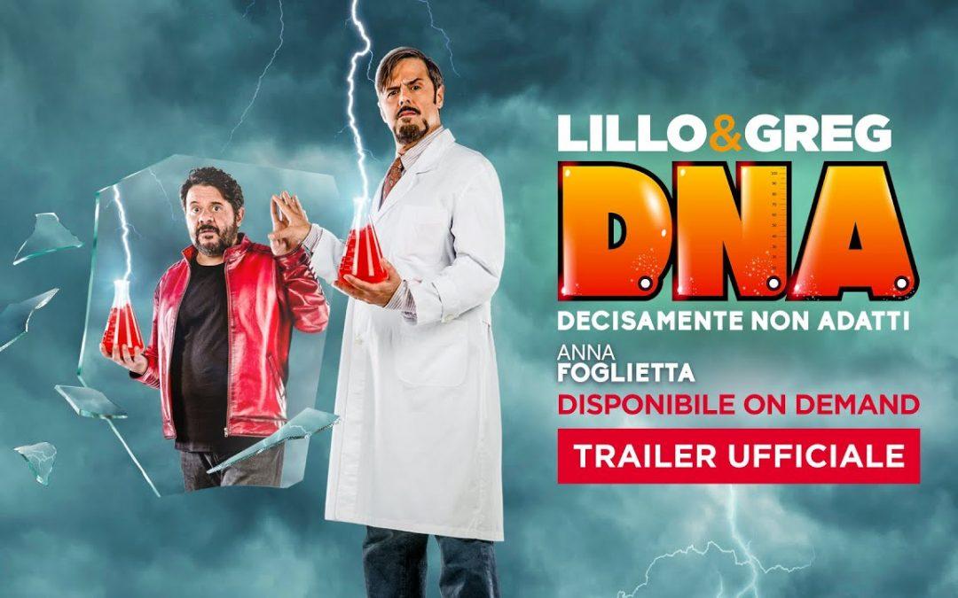 D.N.A. (Decisamente Non Adatti) (2020): Teaser Trailer dle Film con Lillo & Greg – HD